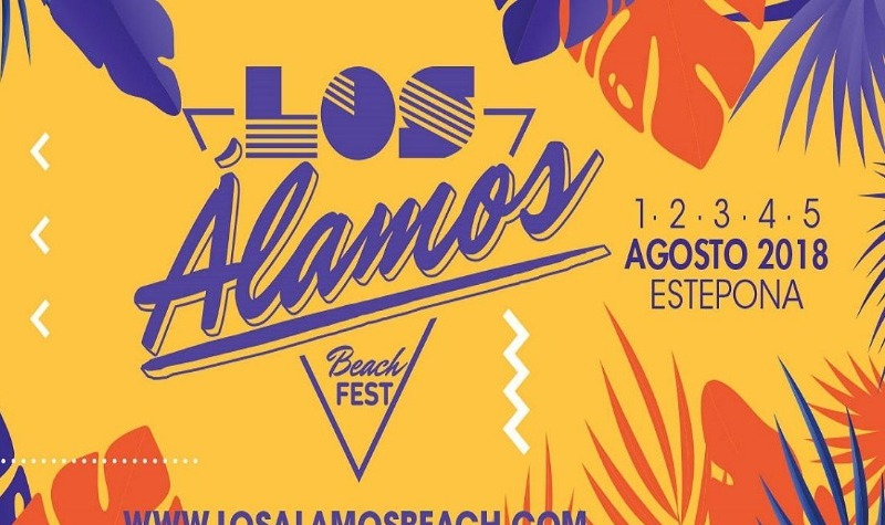 Don't miss UB40 concert and Los Alamos Beach Festival 2018 in Estepona this summer!